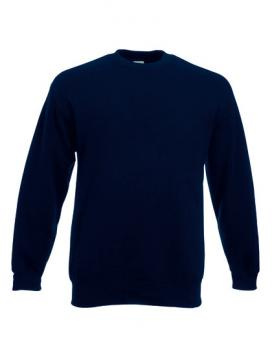 Fruit of the Loom - Classic Set-in Sweat Deep Navy