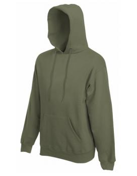 Fruit of the Loom - Premium Hooded Sweat - Classic Olive