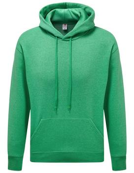 Fruit of the Loom - Premium Hooded Sweat - Heather Green