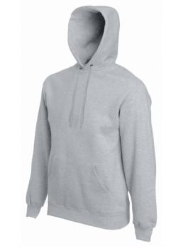Fruit of the Loom - Premium Hooded Sweat - Heather Grey