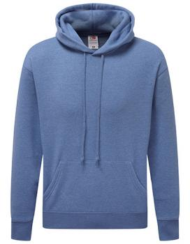 Fruit of the Loom - Premium Hooded Sweat - Heather Royal
