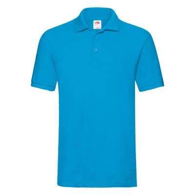 Fruit of the Loom - Premium Polo - Azure Blue