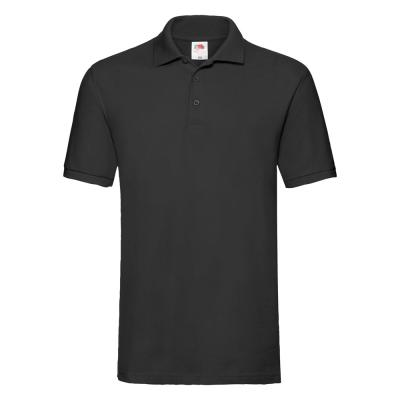 Fruit of the Loom - Premium Polo - Black