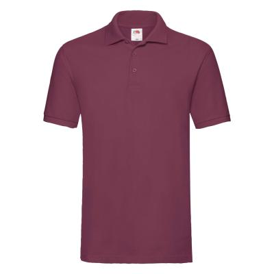 Fruit of the Loom - Premium Polo - Burgundy