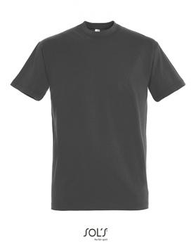 Sol's - Imperial T-Shirt - Dark Grey (Solid)