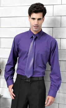 Premier Workwear - Poplin Long Sleeve Shirt