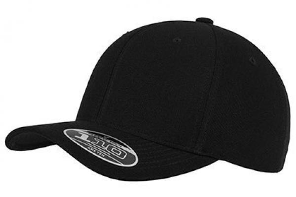 Flexfit - 110 Fitted Snapback - Schwarz