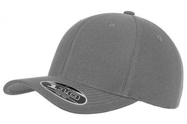 Flexfit - 110 Fitted Snapback - Silver / Grau
