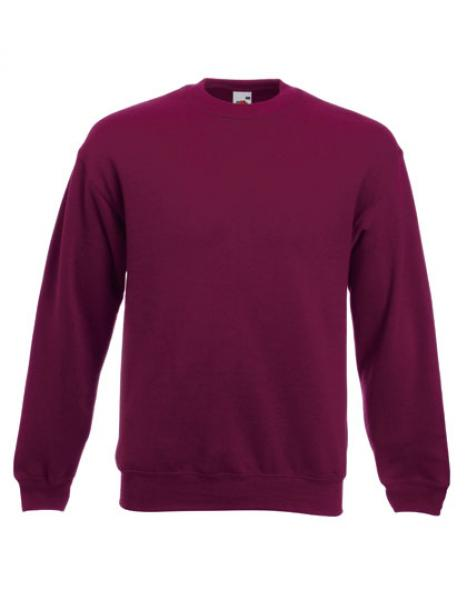 Fruit of the Loom - Classic Set-in Sweat Burgundy