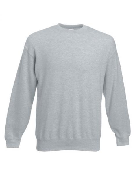 Fruit of the Loom - Classic Set-in Sweat - Heather Grey
