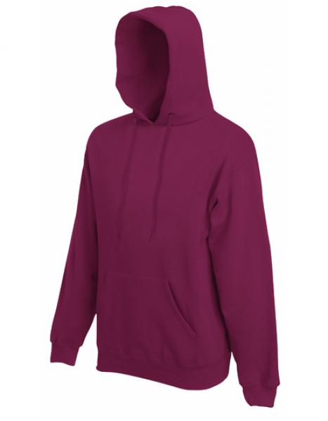 Fruit of the Loom - Premium Hooded Sweat - Burgundy