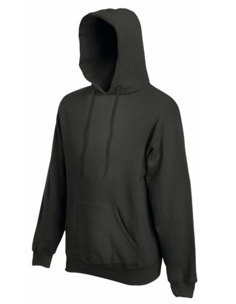 Fruit of the Loom - Premium Hooded Sweat - Charcoal (Solid)