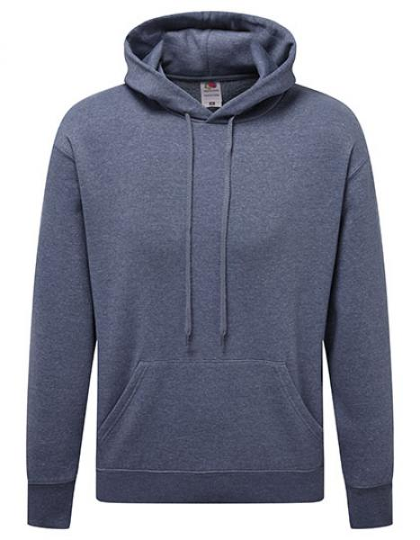 Fruit of the Loom - Premium Hooded Sweat - Heather Navy