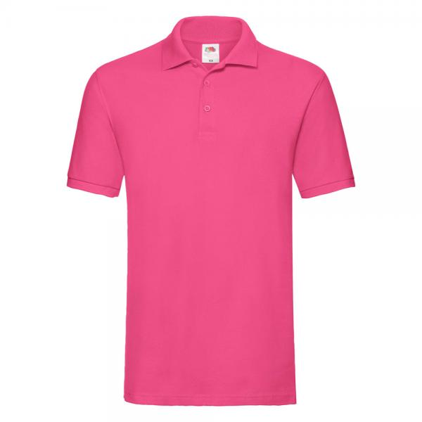 Fruit of the Loom - Premium Polo - Fuchsia