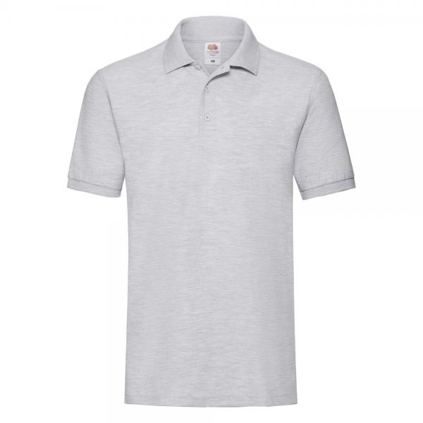 Fruit of the Loom - Premium Polo - Heather Grey