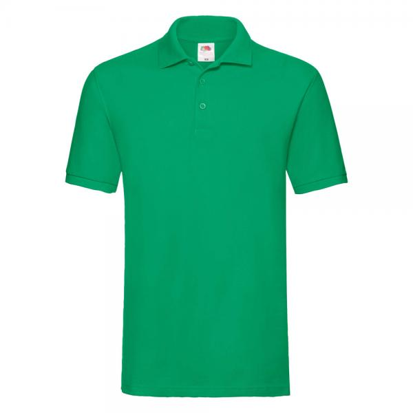 Fruit of the Loom - Premium Polo - Kelly Green