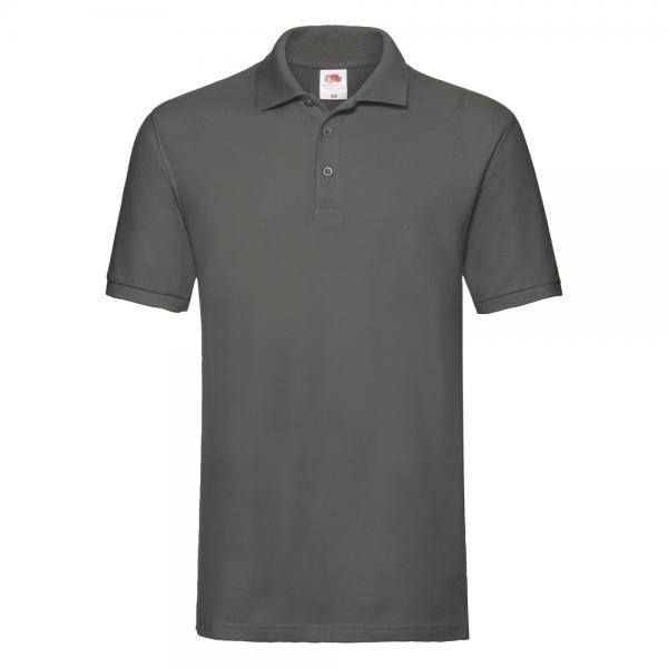 Fruit of the Loom - Premium Polo - Light Graphite (Solid)