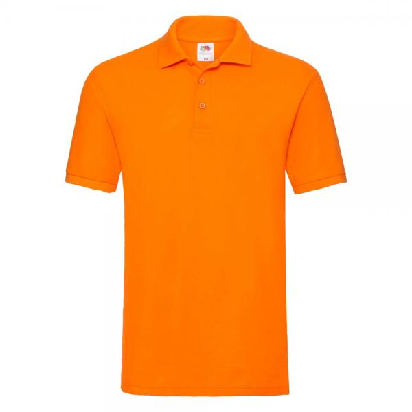 Fruit of the Loom - Premium Polo - Orange