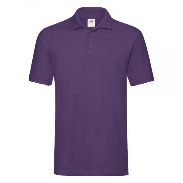 Fruit of the Loom - Premium Polo - Purple