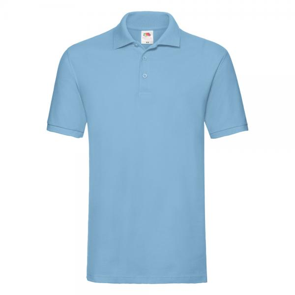 Fruit of the Loom - Premium Polo - Sky Blue