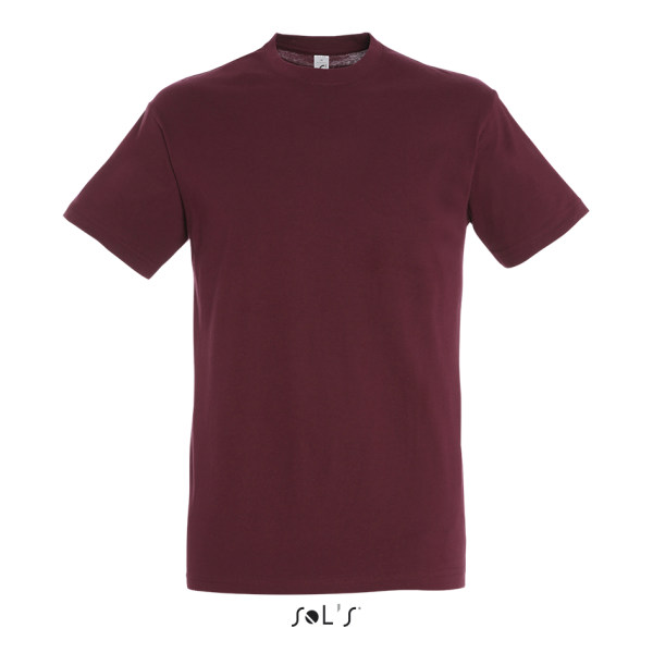 Sol's - Imperial T-Shirt - Burgundy