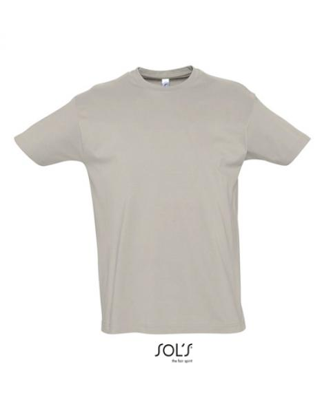 Sol's - Imperial T-Shirt - Light Grey (Solid)