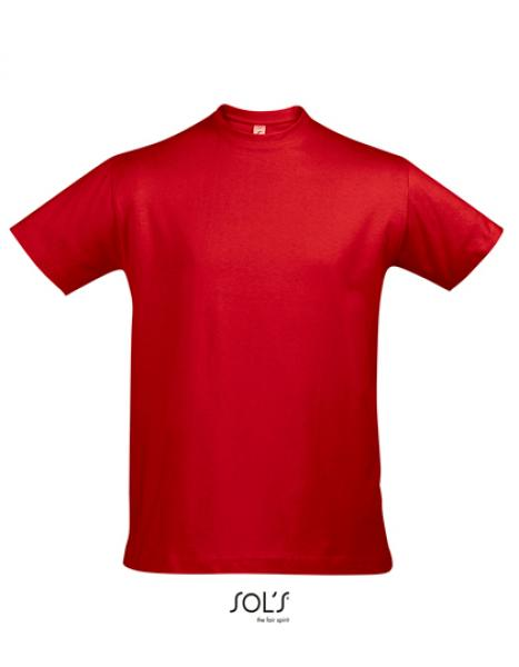 Sol's - Imperial T-Shirt - Red